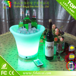 LED Plastic Beer Bucket with Light Color Change Bcr-913b