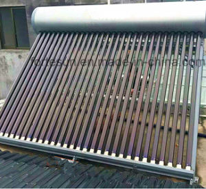 Non Pressure Evacuated Tube Solar Water Heater pictures & photos