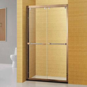 Luxyry Golden Stainless Steel Bathroom Shower Cabin (A-8956) pictures & photos