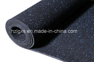 Gym Rubber Rolls Flooring with Colorful EPDM Speckles pictures & photos