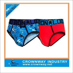 Custom Print Quality Boys Tight Undies with jacquard Waistband pictures & photos