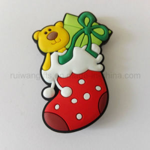 Wholesale Christmas Stocking Fridge Magnet for Xmas Home Decoration pictures & photos