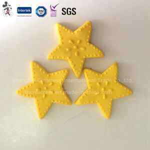 Yellow Star Polymer Clay Cake Decoration pictures & photos