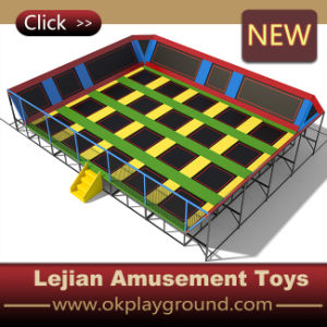 2016 Hot Sale Magnificent Innovative Spacious Golden Professional Trampoline (B1503-12) pictures & photos