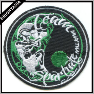 Custom Embroidery Patch for Fire Fighting Logo (BYH-10935) pictures & photos