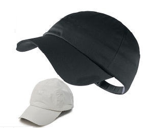 Classics Black/White Cotton Golf Cap pictures & photos