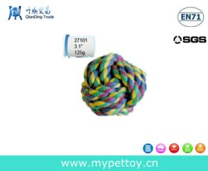 Natural Cotton Roped Ball Pet Toy pictures & photos