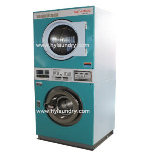 Coin Operated Laundry Washer Dryer Stack Washer Dryer pictures & photos