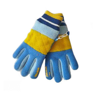 Children Fleece Gloves with Knitted Cuff (JRG019) pictures & photos
