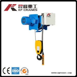Hot Sale Stationary Electric Japanese Type Wire Rope Hoist for Crane Use pictures & photos