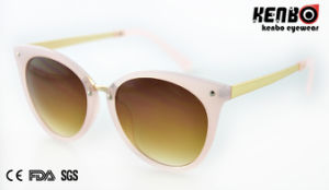 Fashion Sunglasses with Metal Temple for Lady, UV400 Kp50746 pictures & photos