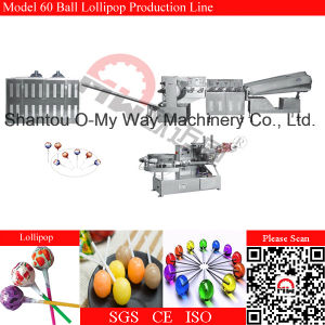 Sphere Lollipop Automatic Forming and Packaging Line pictures & photos