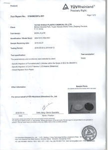 Melamine Moulding Compound Melamine Formaldehyde Resin Compound Melamine Tableware pictures & photos