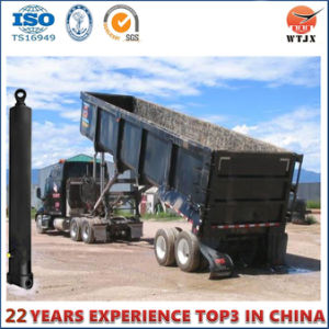 Front-End Multistage Hydraulic Cylinder for Dump Truck pictures & photos