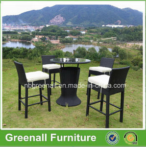 Outdoor Used PE Rattan Garden Furniture Bar Chair pictures & photos