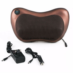 Infrared Heating Car Double Massage Device Neck Pillow Massager pictures & photos
