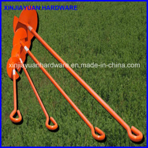 5/8′′x36′′ Power Coated Ground Anchor, Earth Screw Anchor pictures & photos