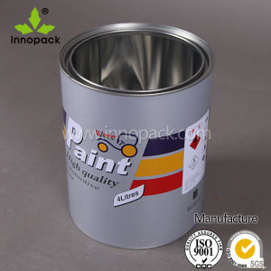 1gallon Round Chemical Use Tin Can Bucket pictures & photos