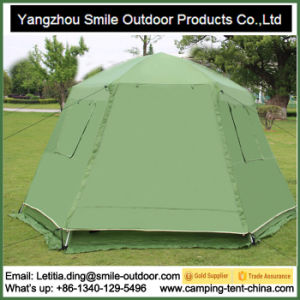 6-8 Persons Military Waterproof Hexagon Automatic Tent pictures & photos