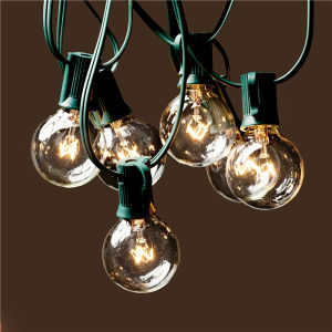 UL Listed 8m 25 Clear Bulb G40 Globe Outdoor Christmas Decoration Light LED Christmas pictures & photos
