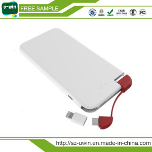 Rechargeable Battery Power Bank 5000mAh pictures & photos