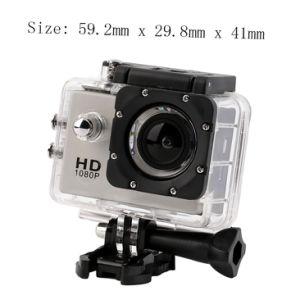 WiFi Sport Camera HD Subacquea 12MP Videocamera Bianco