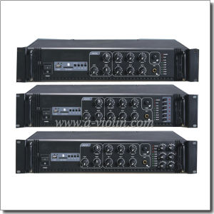 Professional Treble Bass Delay Public Address Power Amplifier (APMP-0218BS) pictures & photos