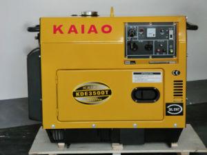 KAIAO Generator for Home Use, Factory Use, Office Use Portable Generator 3-10kw pictures & photos