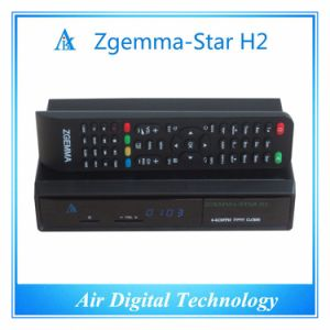Official Software Zgemma Star H2 Satellite Receiver Linux OS E2 DVB-S2+T2/C Twin Tuners pictures & photos