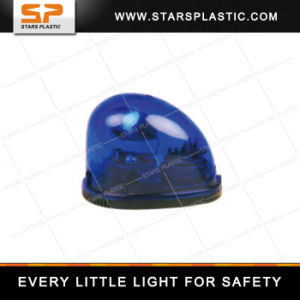 Wl-A15-1201mj 12V 24V Emergency Red Rotating Police Strobe Light with Horn Warning Rotating Siren pictures & photos