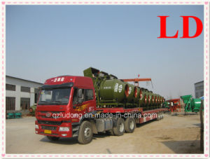 Concrete Mixer with Wire Rope Hopper
