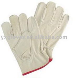 Pig Leather Driver Glove-Industrial Glove- Safety Glove-Weight Lifting Glove pictures & photos