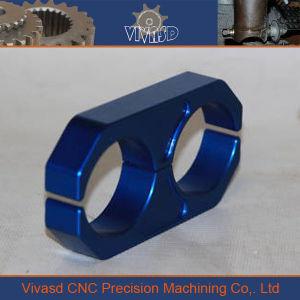 CNC Machining Billet Aluminum Tube Clamp pictures & photos