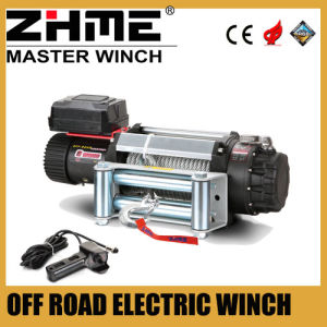 4WD off Road 12500lbs Wire Rope Electric Winch pictures & photos