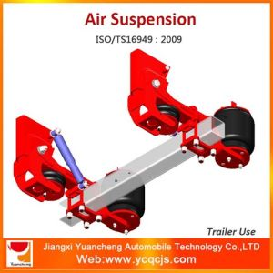 German Type Air Suspension Bag Lifting Trailer Suspension pictures & photos