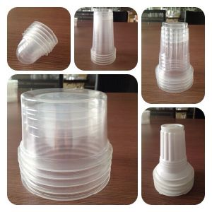 Disposable Plastic Cup Lid Forming Machine (PPTF-70T) pictures & photos