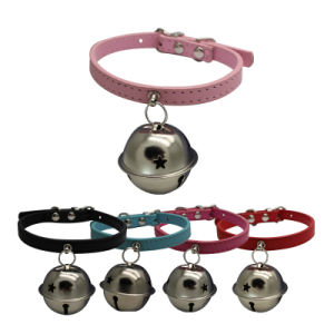 Design Outdoor Pet Adjustable Collars with Bell for Large Cats pictures & photos