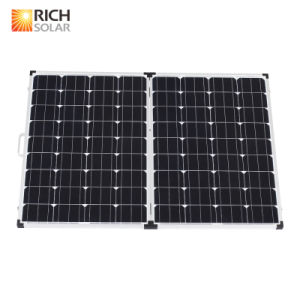 200W 12V Monocrystalline Folding Solar Panel Kit pictures & photos