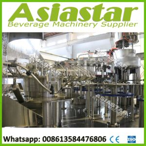 Pet Bottle Carbonated Soft Beverage Bottling Filling Machine pictures & photos