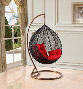 Modern Leisure Wicker Furniture Hanging Chair with Round Rattan (J811) pictures & photos