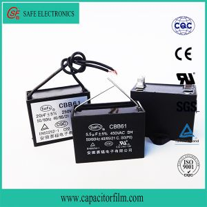 Cbb61 AC Motor Run and Start Metallized Film Capacitor Standing Fan pictures & photos