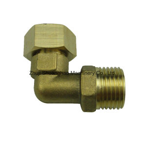 Compressed Brass Fittings Brass Elbow pictures & photos