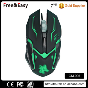 Colorful 6 Buttons 2400 Dpi LED Gaming Mouse pictures & photos