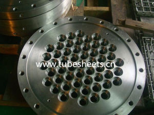 Machining Drilled Tube Sheets