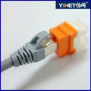 CAT6 Snagless Shielded (SSTP/SFTP) Ethernet Patch Cable in Black 20 Feet pictures & photos