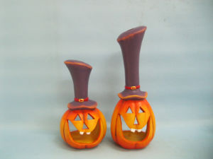 Halloween Pumpkin Ceramic Arts and Crafts (LOE2382-24z) pictures & photos