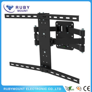 Flat Panel and Curved Panel Tvs Full Motion Wall Mount pictures & photos