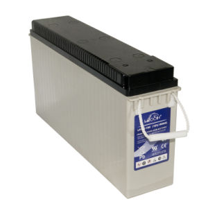 12V180ah Front Terminal AGM VRLA Battery for Telecom & UPS Systems pictures & photos