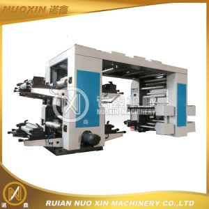 4 Colour Plastic Film Flexography Printing Machine pictures & photos