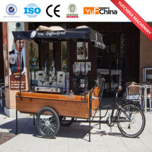 High Quality Electric Fast Food Tricycle/Coffee Vending Cart pictures & photos